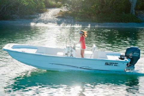 2016 Carolina Skiff 2180 DLX Manufacturer Provided Image