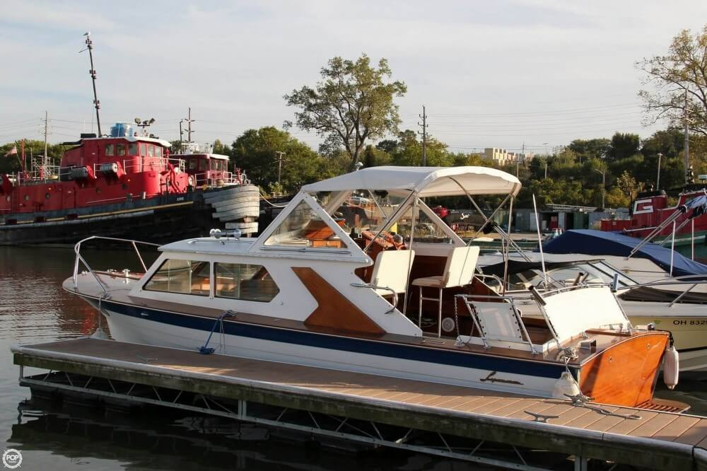 Check out this 1969 LYMAN 26 Express Cruiser on Boattrader com