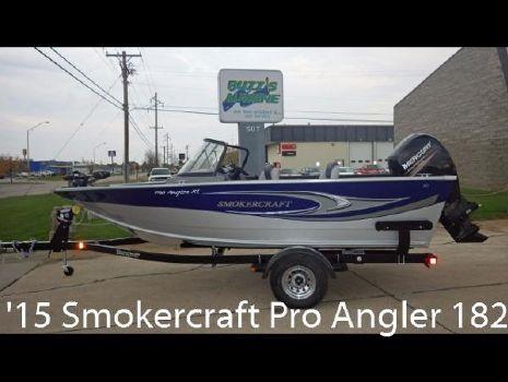 2015 Smoker-craft Pro Angler 182XL