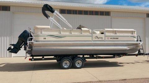 2005 Odyssey Pontoons 322T CC