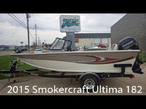 2015 Smoker-craft 182 Ultima