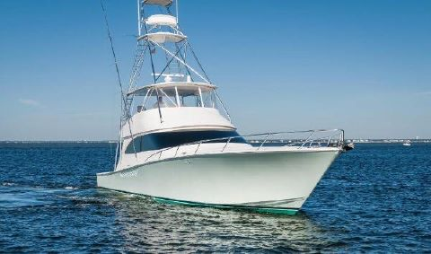 2012 Viking 66 Convertible Starboard Bow