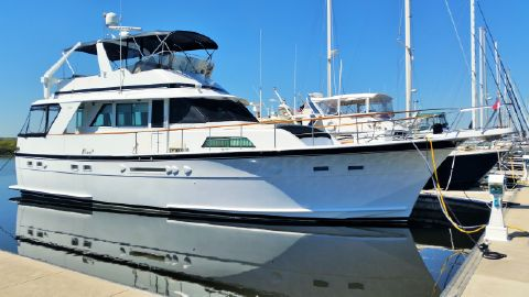 1987 Hatteras 53 Classic MY