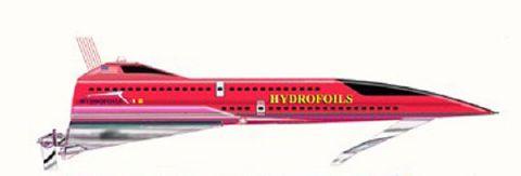 2015 Hydrofoil 100kt Ferry/Cargo/Super Yacht