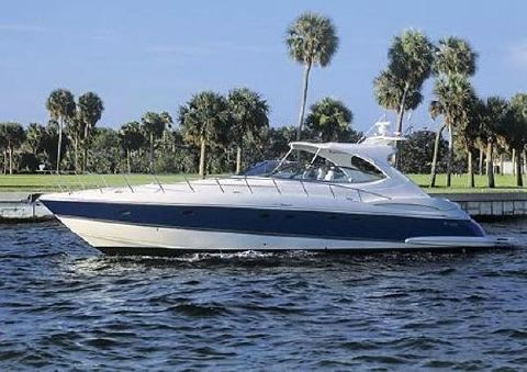 2005 Cruisers Yachts 540 Express Port Profile
