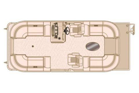 2018 Sylvan Mirage Cruise 8522 LZ Manufacturer Provided Image: Manufacturer Provided Image
