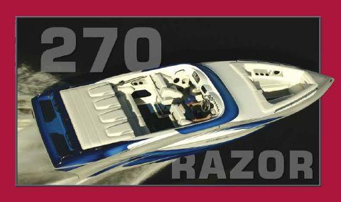2015 Cobra 270 Razor