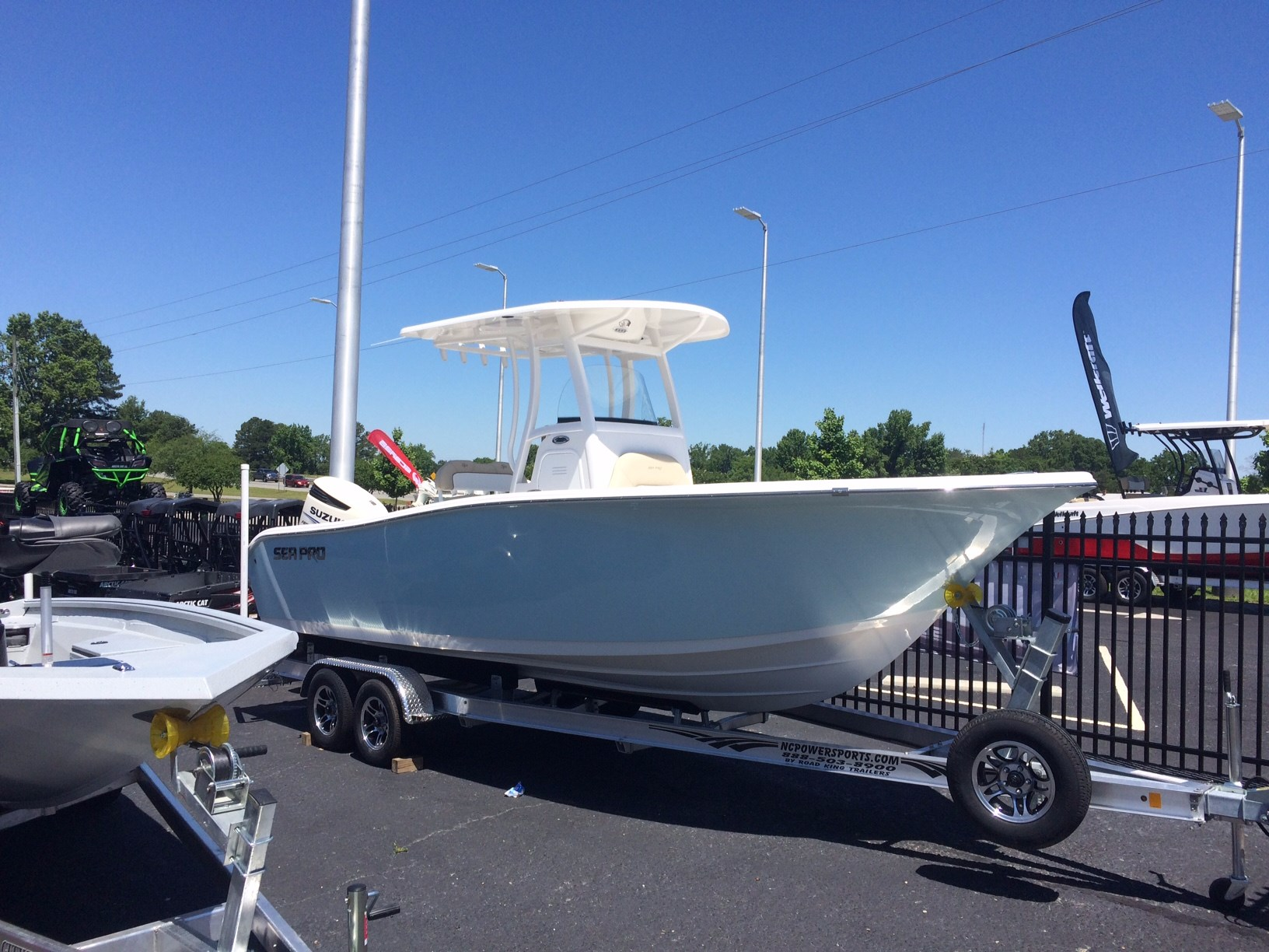 2016 Sea Pro 239 CC