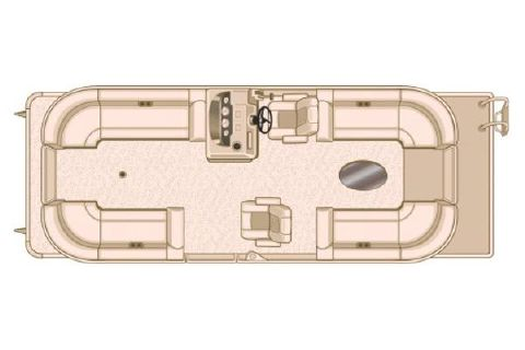 2018 Sylvan Mirage Cruise 8524 LZ LE Manufacturer Provided Image: Manufacturer Provided Image