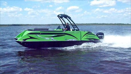 2015 Caravelle 25' High Performance Pontoon
