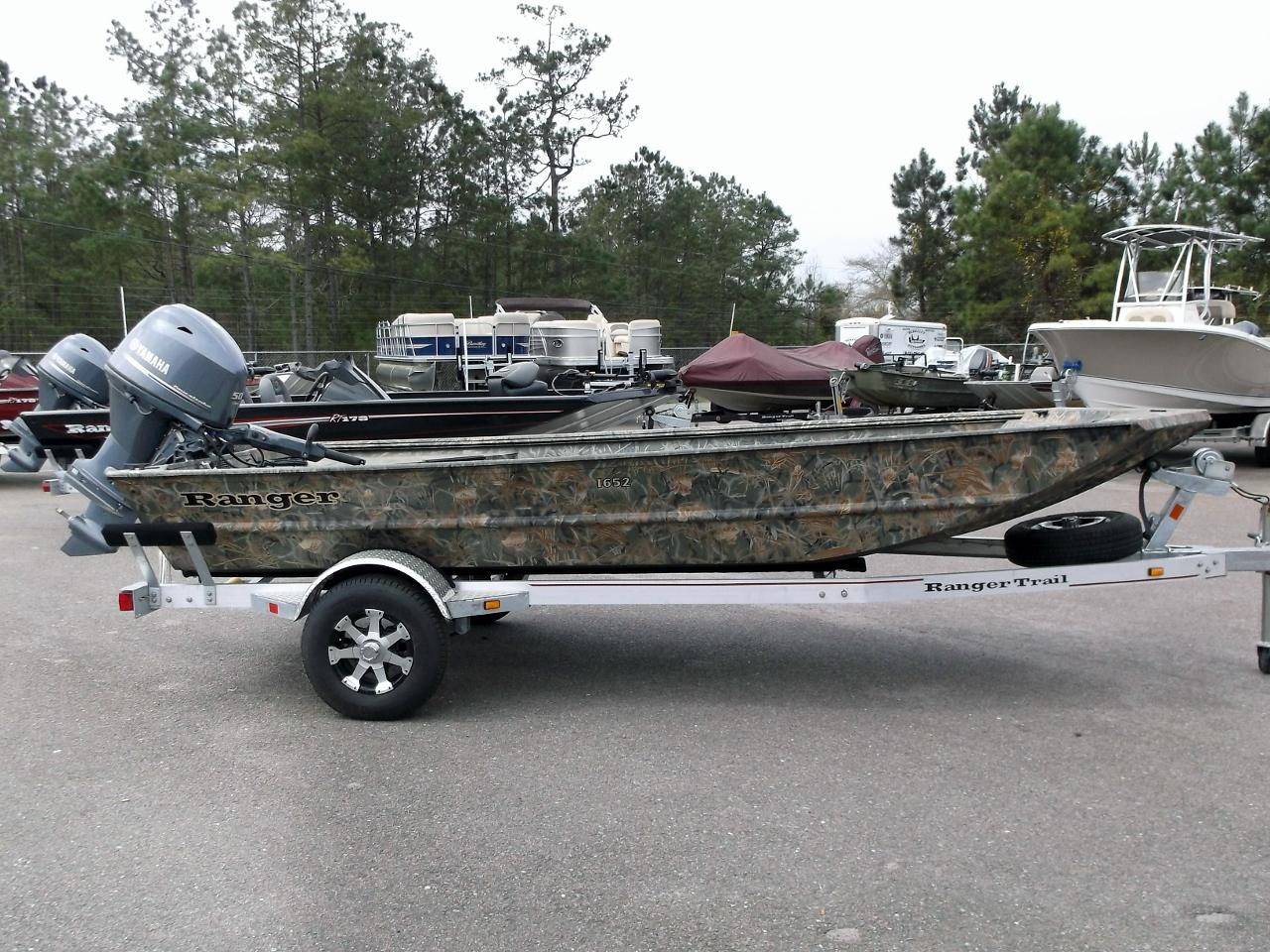 2015 ranger 1652 16 foot 2015 ranger motor boat in for Used boat motors for sale in sc