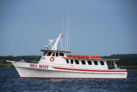 1986 Custom GARY DAVIS  Passenger Charter Boat SEA MIST