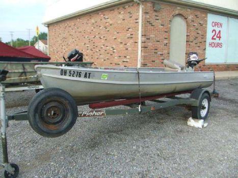 1958 Alumacraft 13' Boat