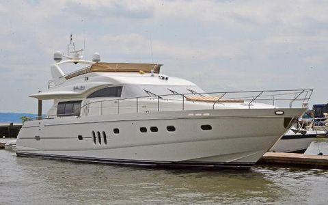 2006 Viking 75 Motor Yacht Starboard