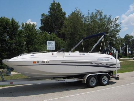 2005 EBBTIDE 2100 Fun Cruiser OB
