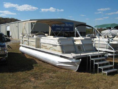 1998 Crest Pontoon Boats Savannah 250