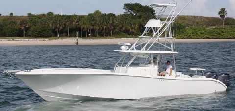 2010 Yellowfin Center Console