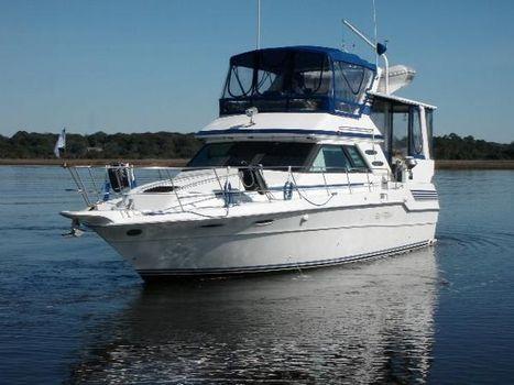 1988 Sea Ray 415 Aft Cabin Profile
