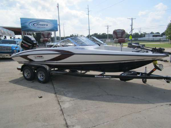 Page 1 of 4 page 1 of 4 triton boats for sale for Triton fish and ski