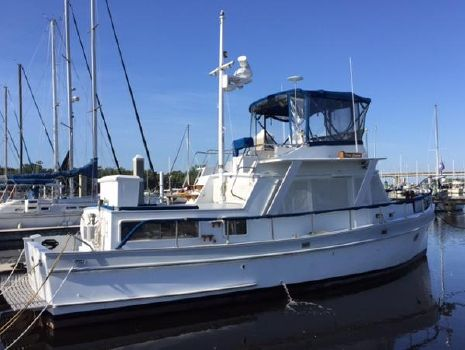"1982 Monk Trawler 40' Monk ""Old Spice"" starboard"