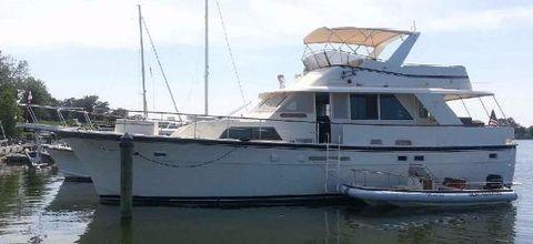1984 Hatteras Motoryacht Profile