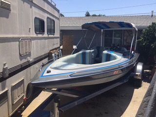 1989 Cole Boats 21' OPEN BOW