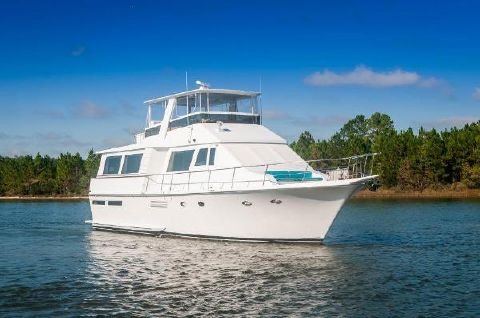 1988 Viking 63 Motor Yacht Cajun Express Viking 1988 Bow