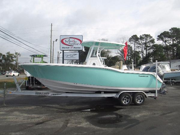 2016 Tidewater 252 Center Console 25 Foot 2016 Motor