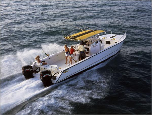 2015 Twin Vee 32' Ocean Cat
