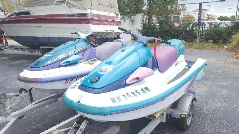 1995 Yamaha Wave Ventures 1995 and 1997