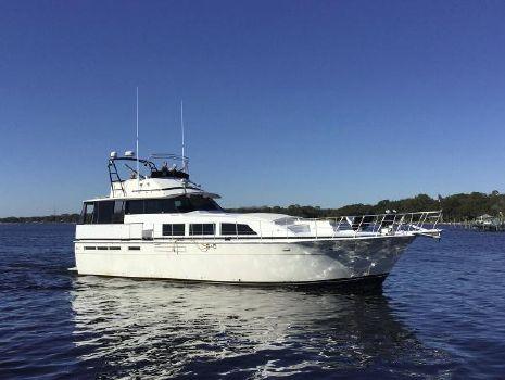 1976 Bertram 58 Flybridge Motor Yacht Profile Starboard