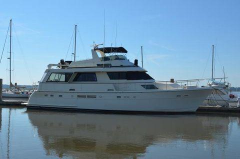 1989 Hatteras 68 Motoryacht