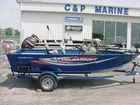 2016 POLAR KRAFT 16' Bass Boat