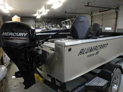 2017 Alumacraft yukon 180 tiller