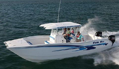 2015 Twin Vee 35' Hydofoil Catamaran