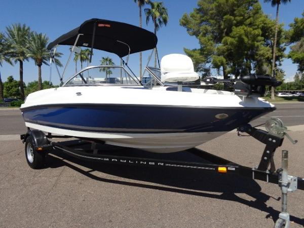 2015 Bayliner 175 Bowrider Ski and Fish