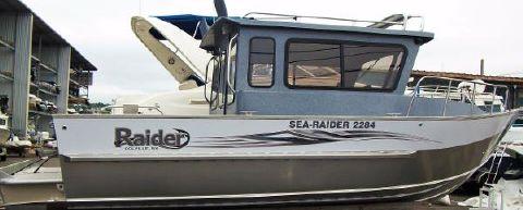 2015 Raider Sea Raider 2284 Cuddy
