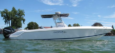 2005 Donzi 32 ZF