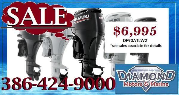 New 2019 SUZUKI 90hp 4-stroke 20inch shaft White or Black