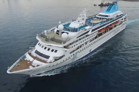 1992 Cruise Ship, 1076 Passenger - Stock No. S2115