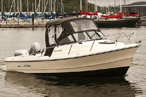 2017 Arima Sea Ranger 17 Manufacturer Provided Image