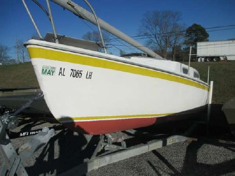 1973 Gulf Coast Boats 23' Sailing Yacht