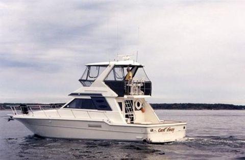 1991 Sea Ray Convertible Flybridge Profile