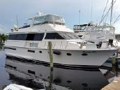 1989 Viking Wide Body Motor Yacht