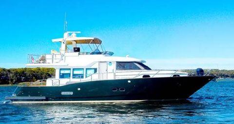 2003 Sea Star 65 Custom Pilothouse Main Profile