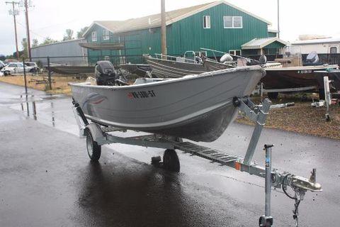 2014 Smoker-craft 15 Alaskan DLX