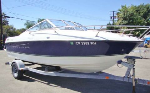 2007 Bayliner Discovery 192 Cuddy Cabin
