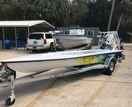 2017 Hell's Bay Boatworks Glades Skiff