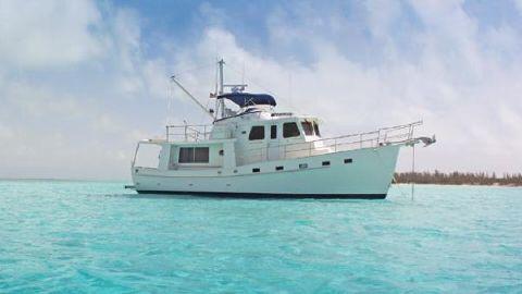 2018 Krogen 44' AE Krogen 44' AE at anchor