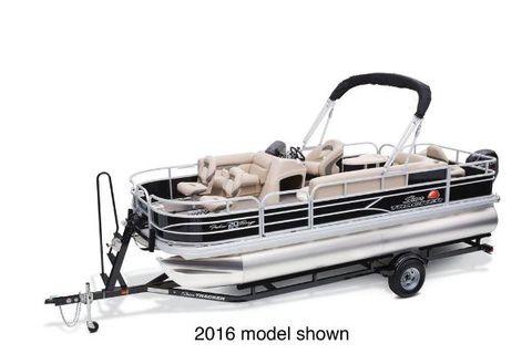 2017 Sun Tracker Fishin' Barge 20 DLX Manufacturer Provided Image